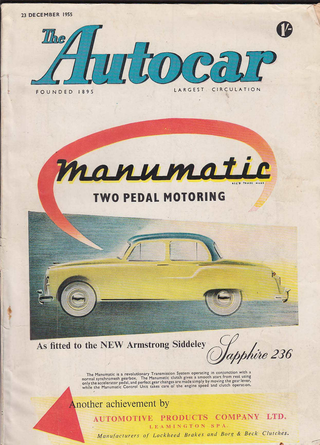 Image for AUTOCAR Austin A.30 Countryman road test ++ 12/23 1955