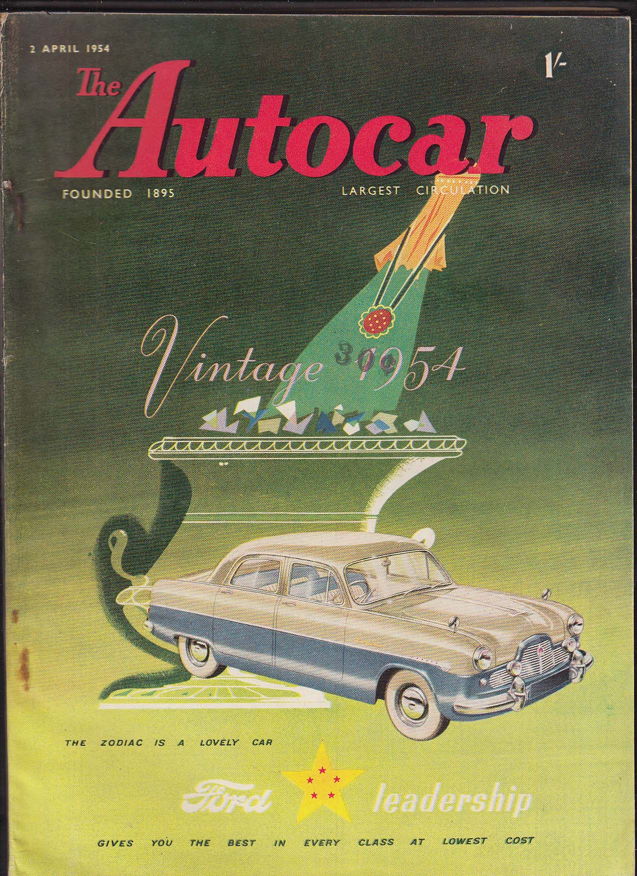 Image for AUTOCAR Fiat 1100 TV road test Stockholm Vienna Toronto shows + 4/2 1954