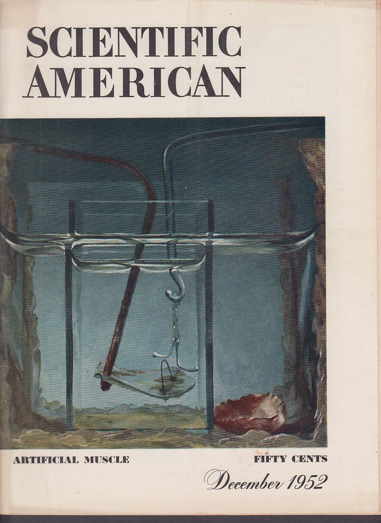 SCIENTIFIC AMERICAN Algae Stickleback Potato Breeder Reactor Arroyos ++ 12 1952