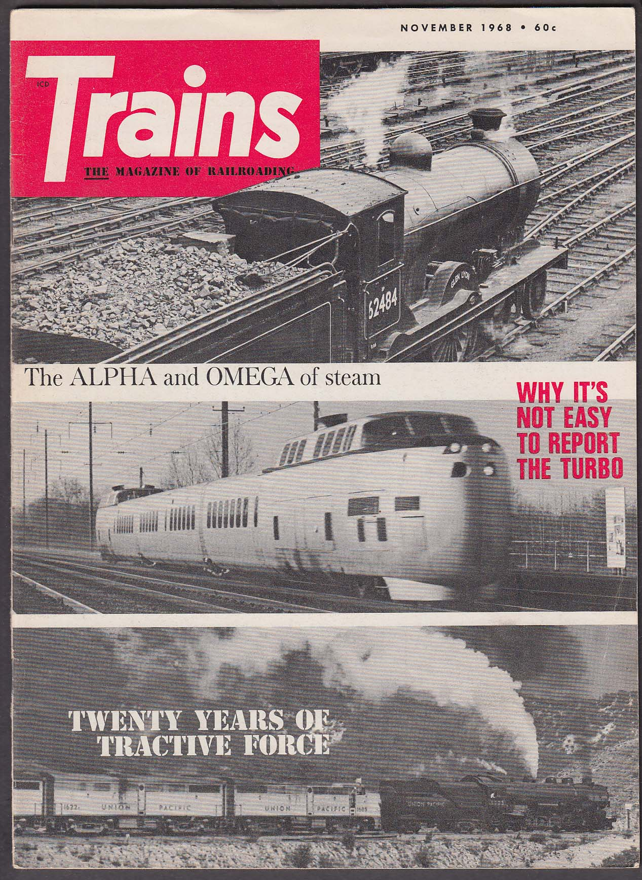 Image for TRAINS Southern Railway System Iron-Horse New York Central + 11 1968