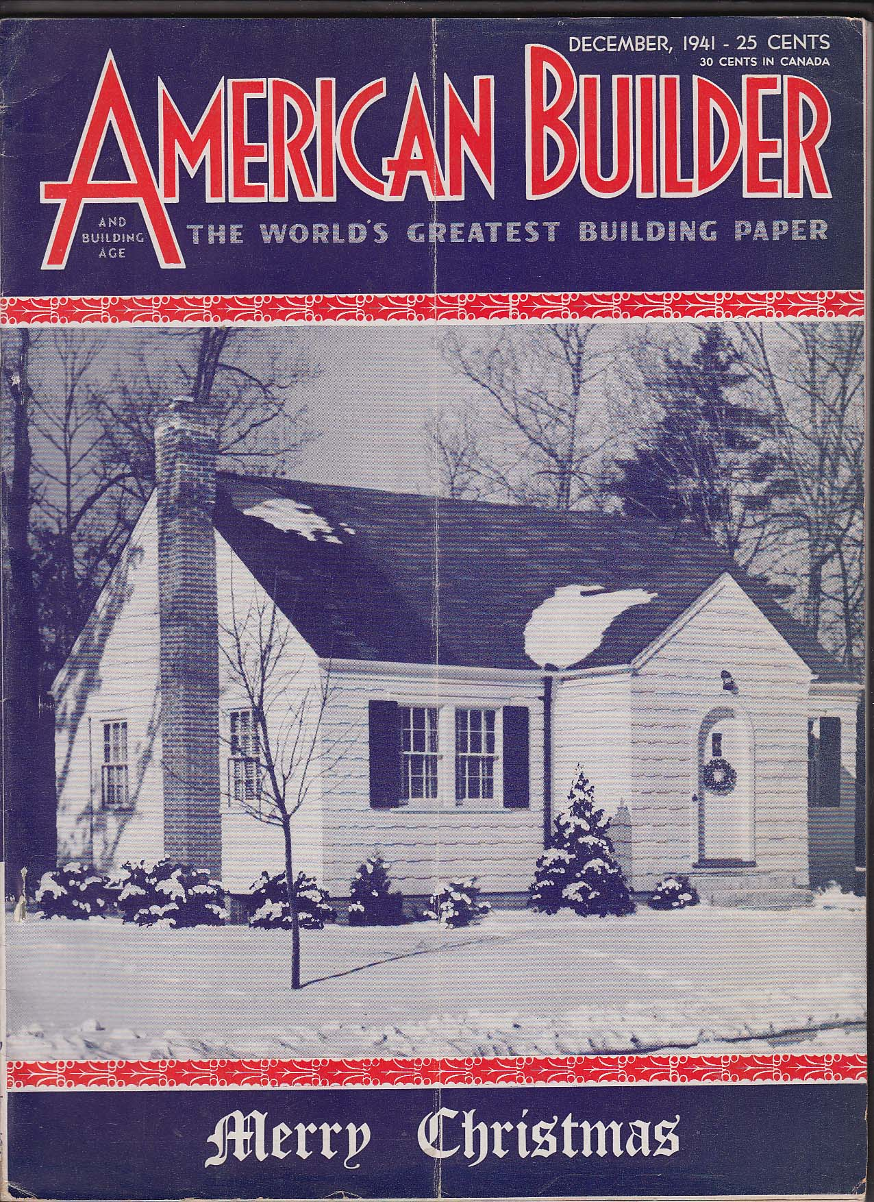 Image for AMERICAN BUILDER A-2 Priority Extensible House Detroit Stackhouse ++ 12 1941