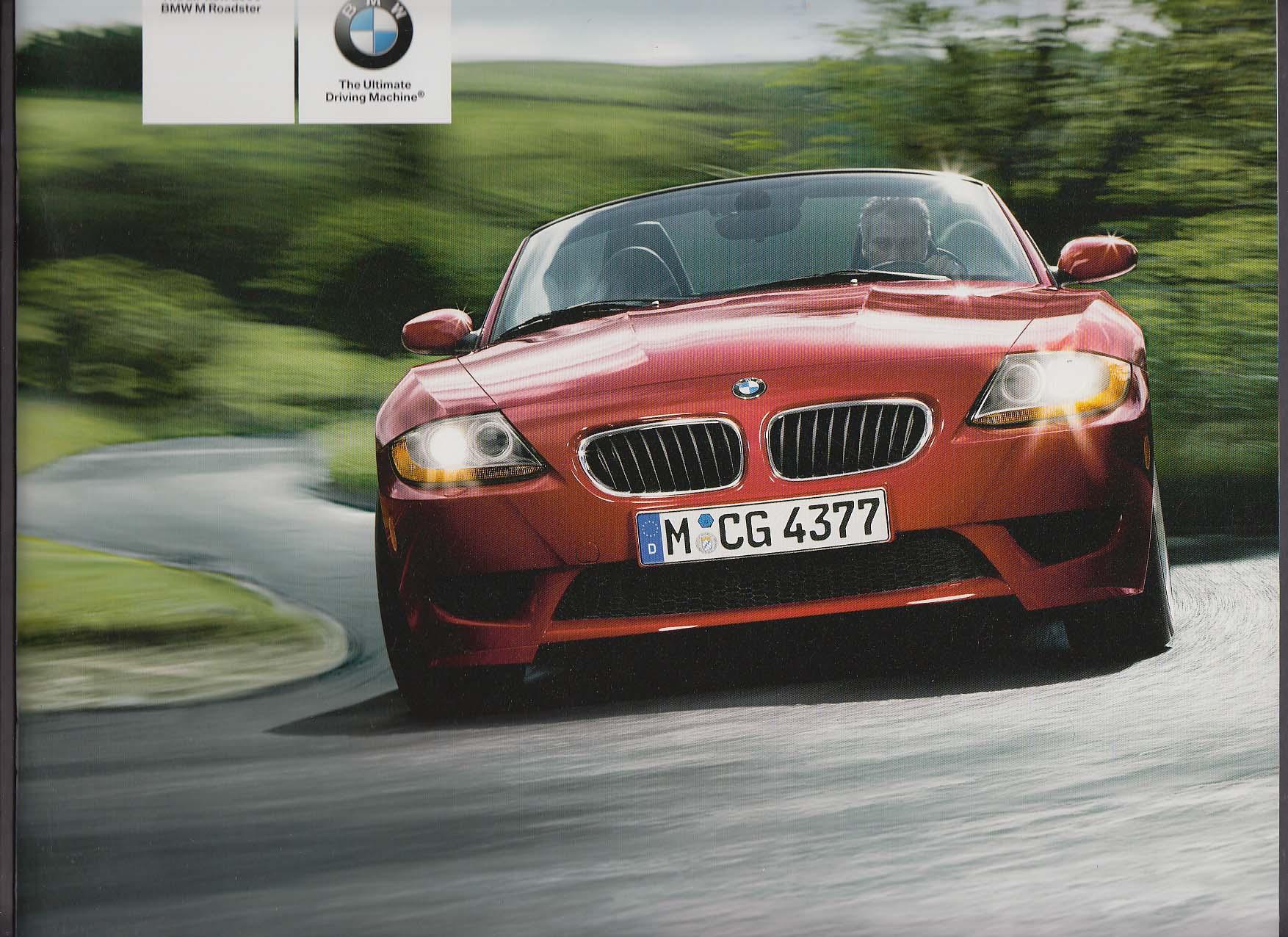 Image for 2006 BMW M Roadster sales brochure catalog
