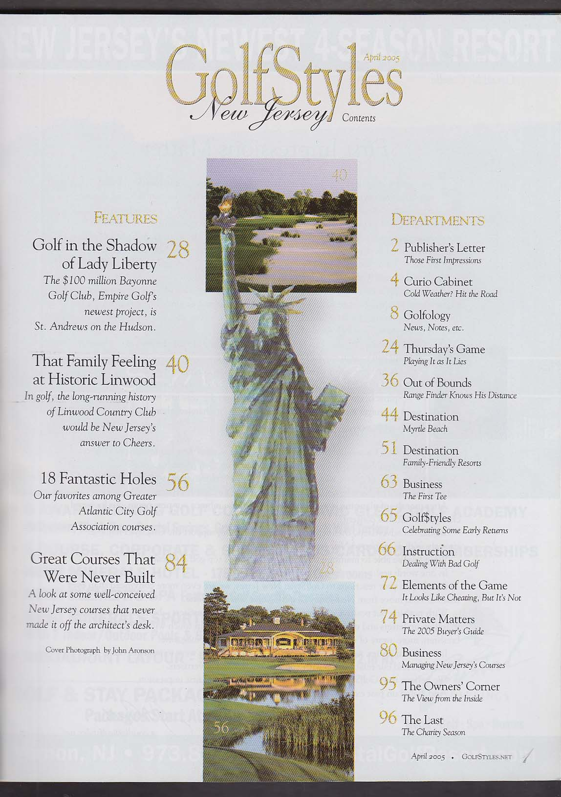 Image for GOLFSTYLES New Jersey Linwood Atlantic City Bayonne ++ 4 2005