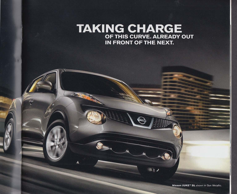 Image for 2011 Nissan Juke sales brochure catalog