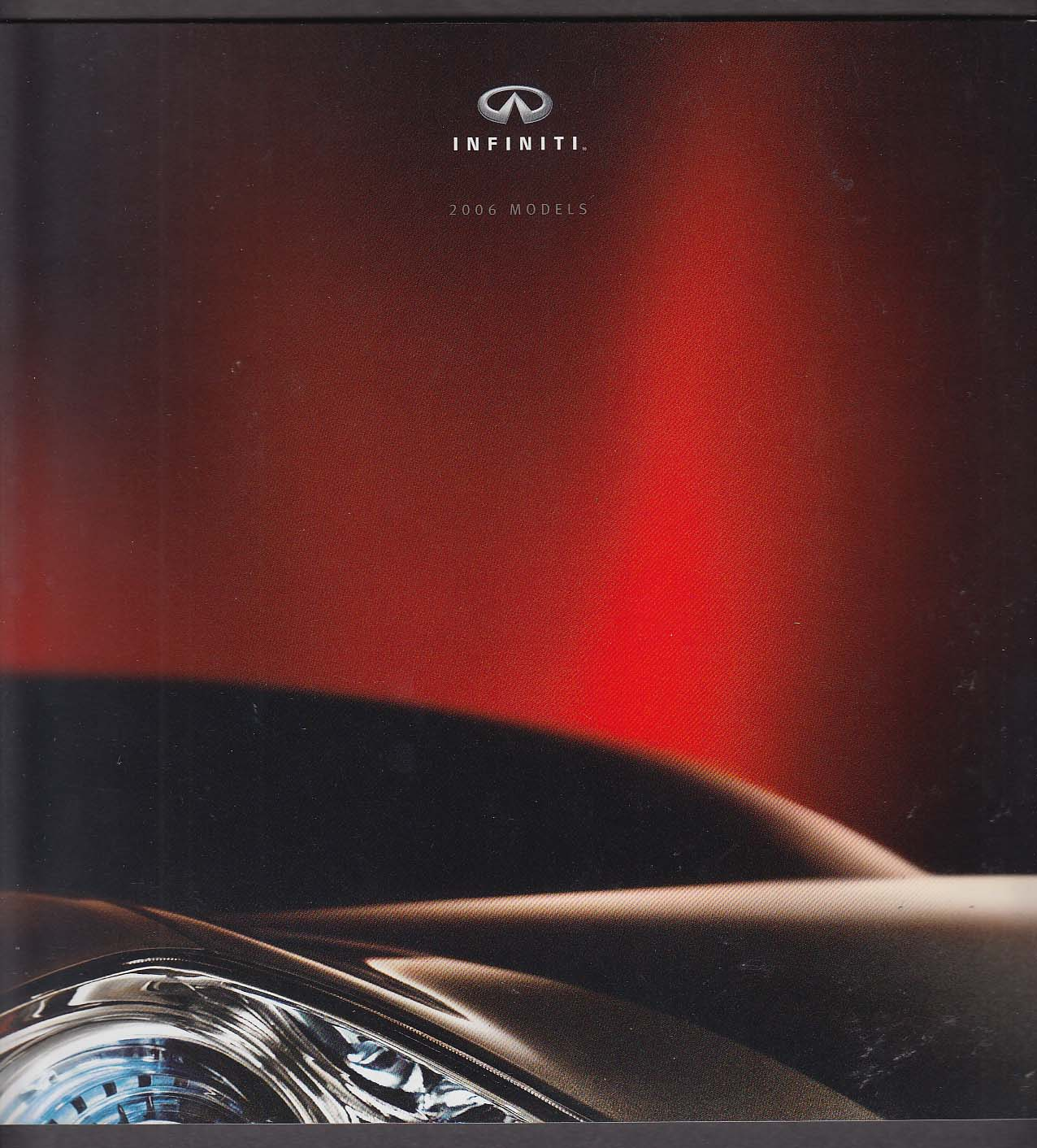 Image for 2006 Infiniti full-line sales brochure catalog Q M G Sedan Coupe FX QX +