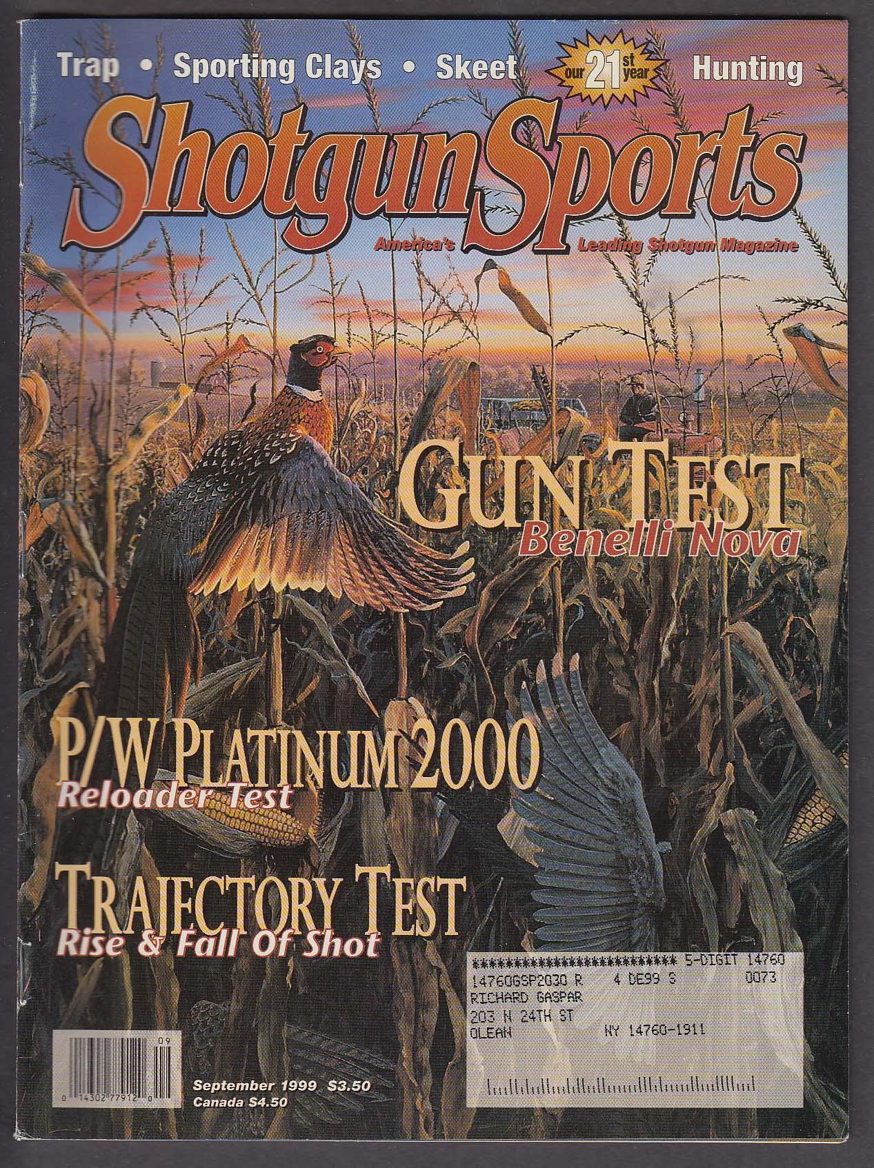 Image for SHOTGUN SPORTS Benelli Nova P/W Platinum 2000 28 Gauge Cabela + 9 1999