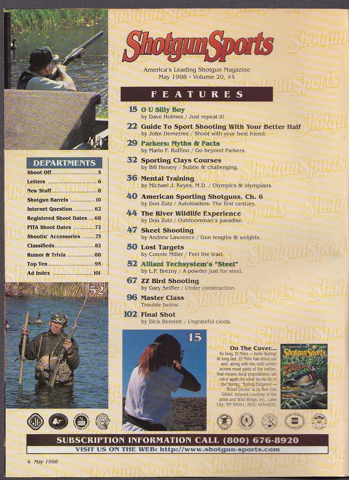 Image for SHOTGUN SPORTS Alliant Techsystem Steel Autoloaders Olympics Parker + 5 1998