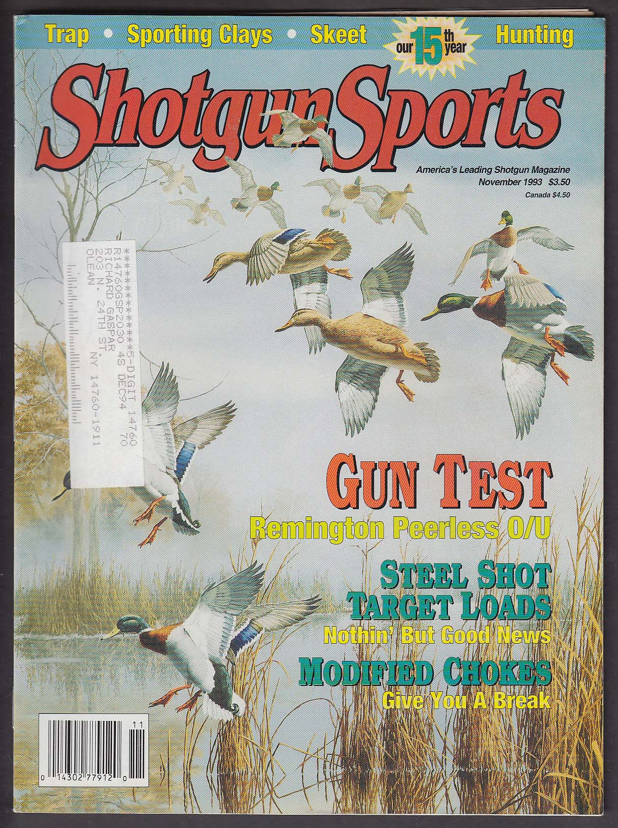 SHOTGUN SPORTS 24 Gauge O/U Modified Choke Turkey Loads Gene