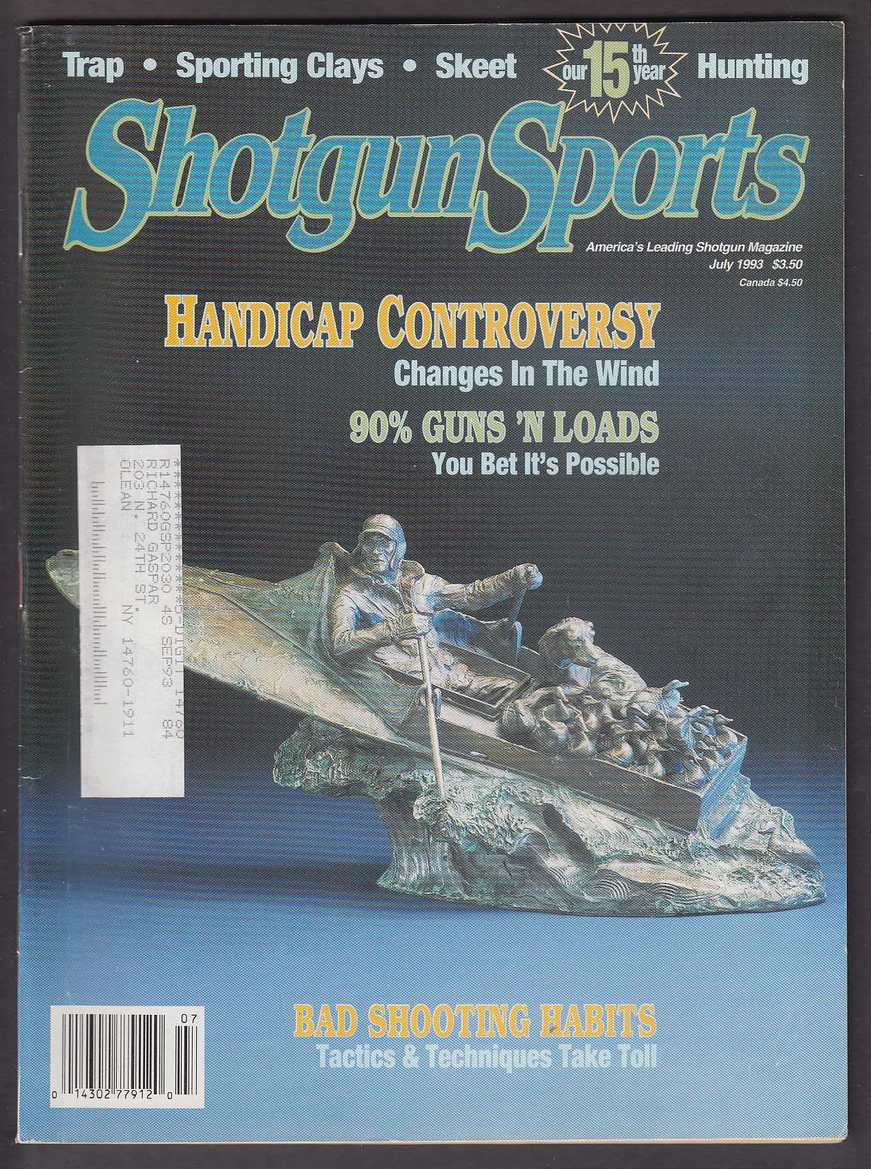 Image for SHOTGUN SPORTS Fiocchi Heavy Field Load Winchester Super Target + 7 1993