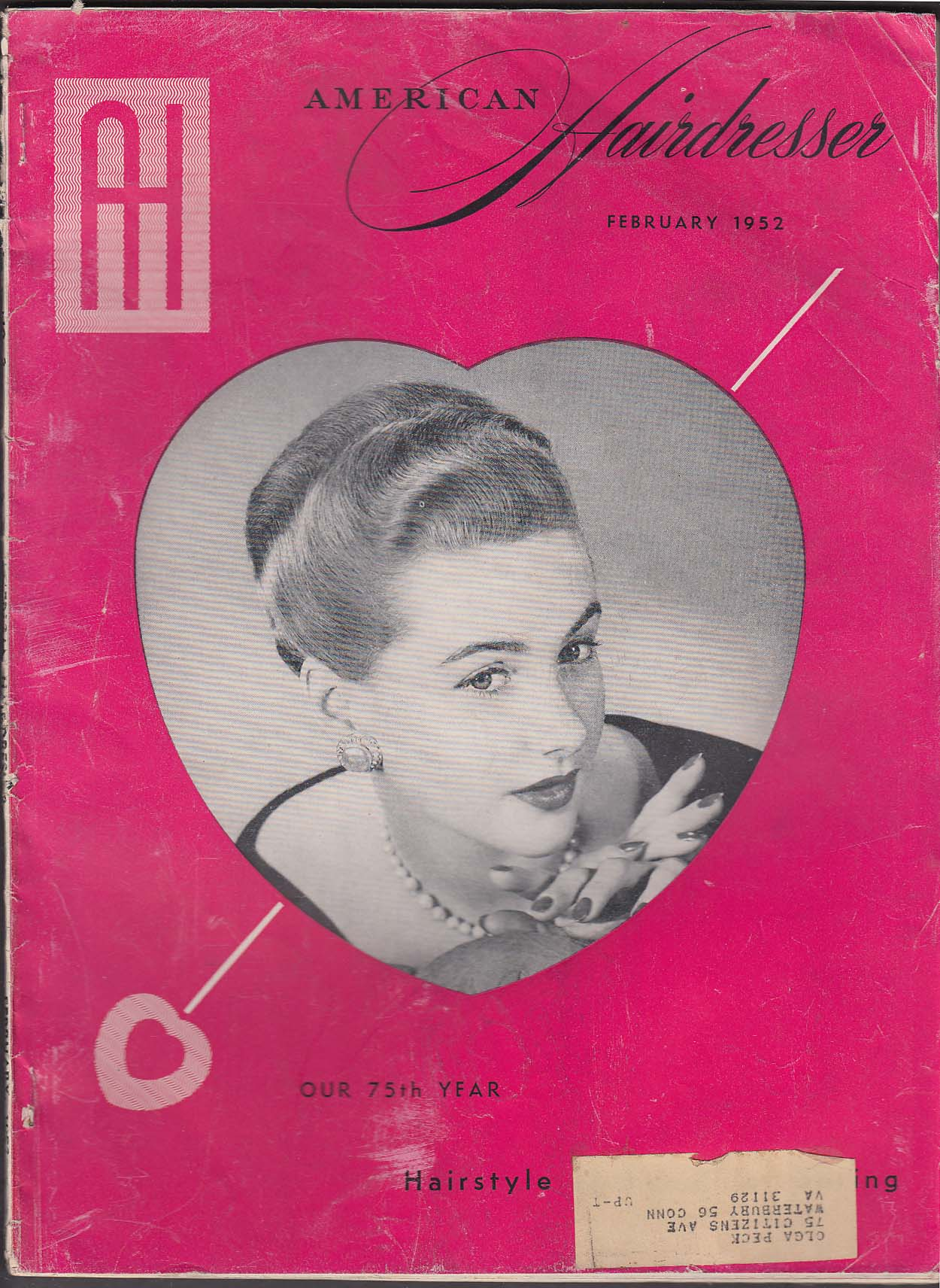 AMERICAN HAIRDRESSER Philip Prafeta Anthony Colletti ++ 2 1952