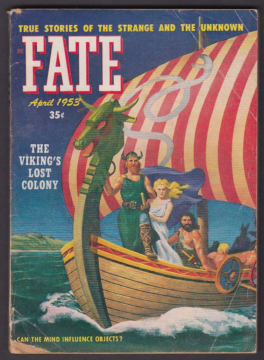 FATE #37 Viking Lost Colony GGA Opal Whiteley Maria Talarico ++ 4 1953