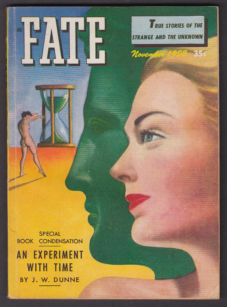 FATE #32 J W Dunne Experiment with Time GGA 11 1952
