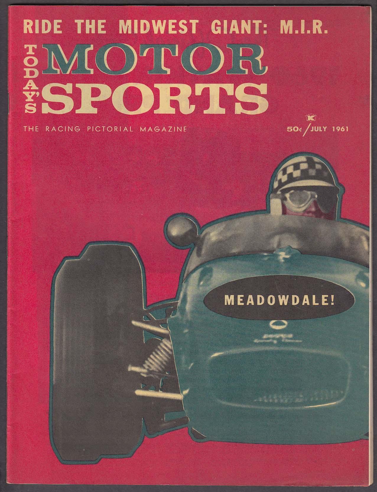 MOTOR SPORTS Meadowdale SCCA IRP Studebaker Lark Sebring Alfred Momo + 7 1961