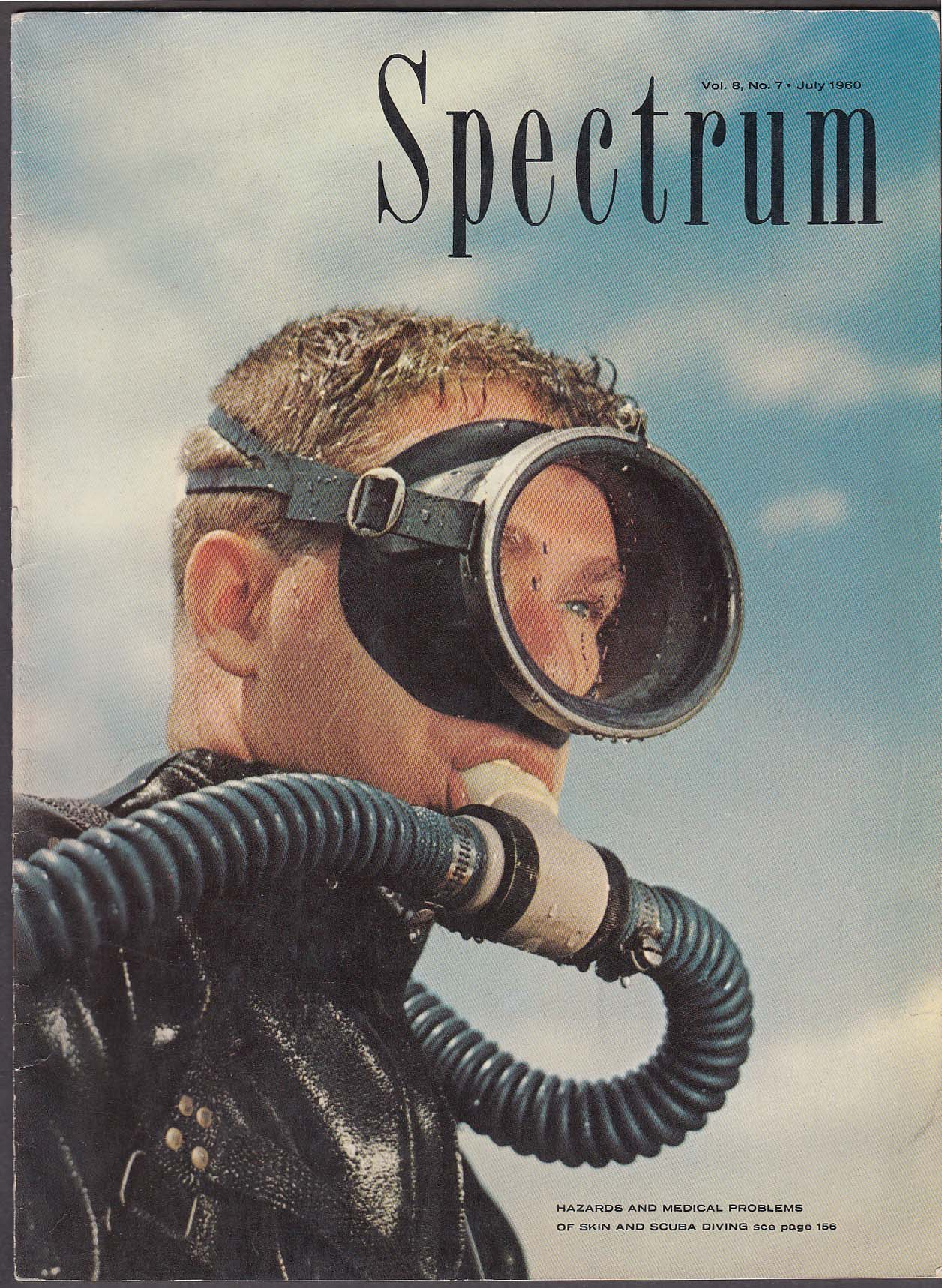 SPECTRUM Scuba Diving Hazards; Motion Sickness; Testicle Tumors ++ 7 1960