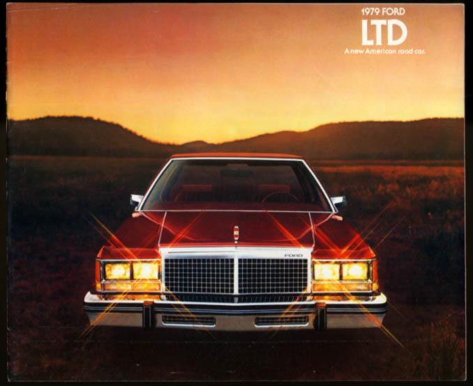 Image for 1979 Ford LTD brochure 2-door 4-door Landau Country Squire Wagon