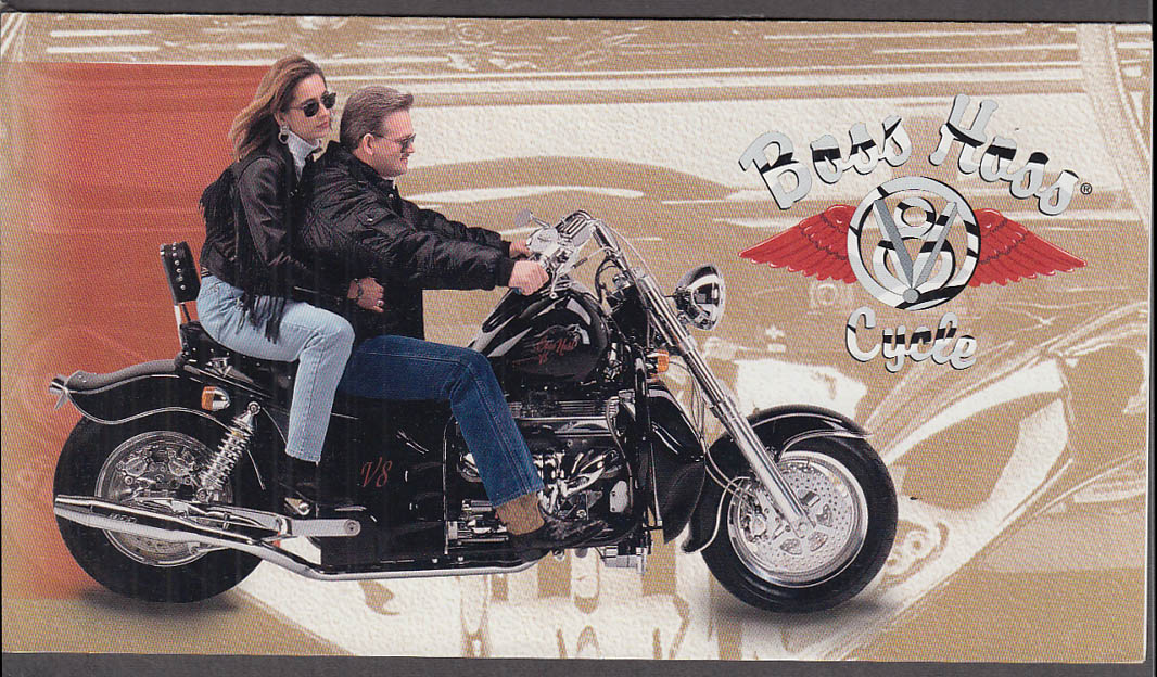 Boss Hoss V-8 Motorcycle sales folder 1990