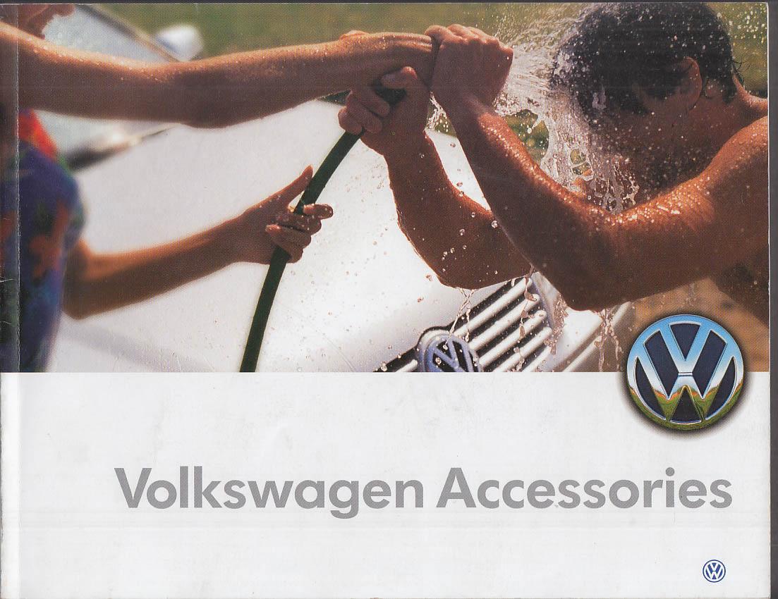 Volkswagen Accessories brochure 1999 Jetta Passat Beetle Golf GTI Cabrio Eurovan
