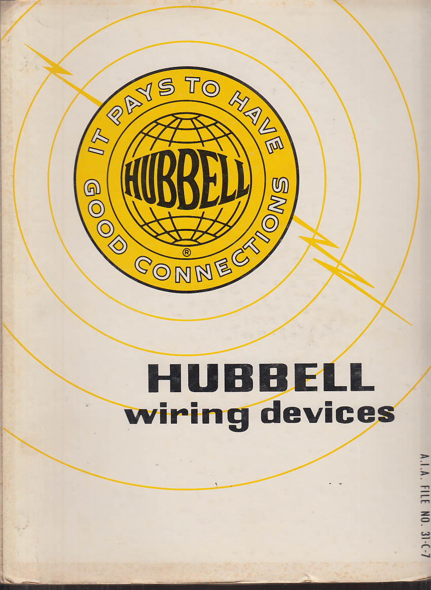 hubbell wiring devices catalog 1967 broadview il rh thejumpingfrog com Hubbell Wiring DEVICE- KELLEMS hubbell wiring devices online catalog