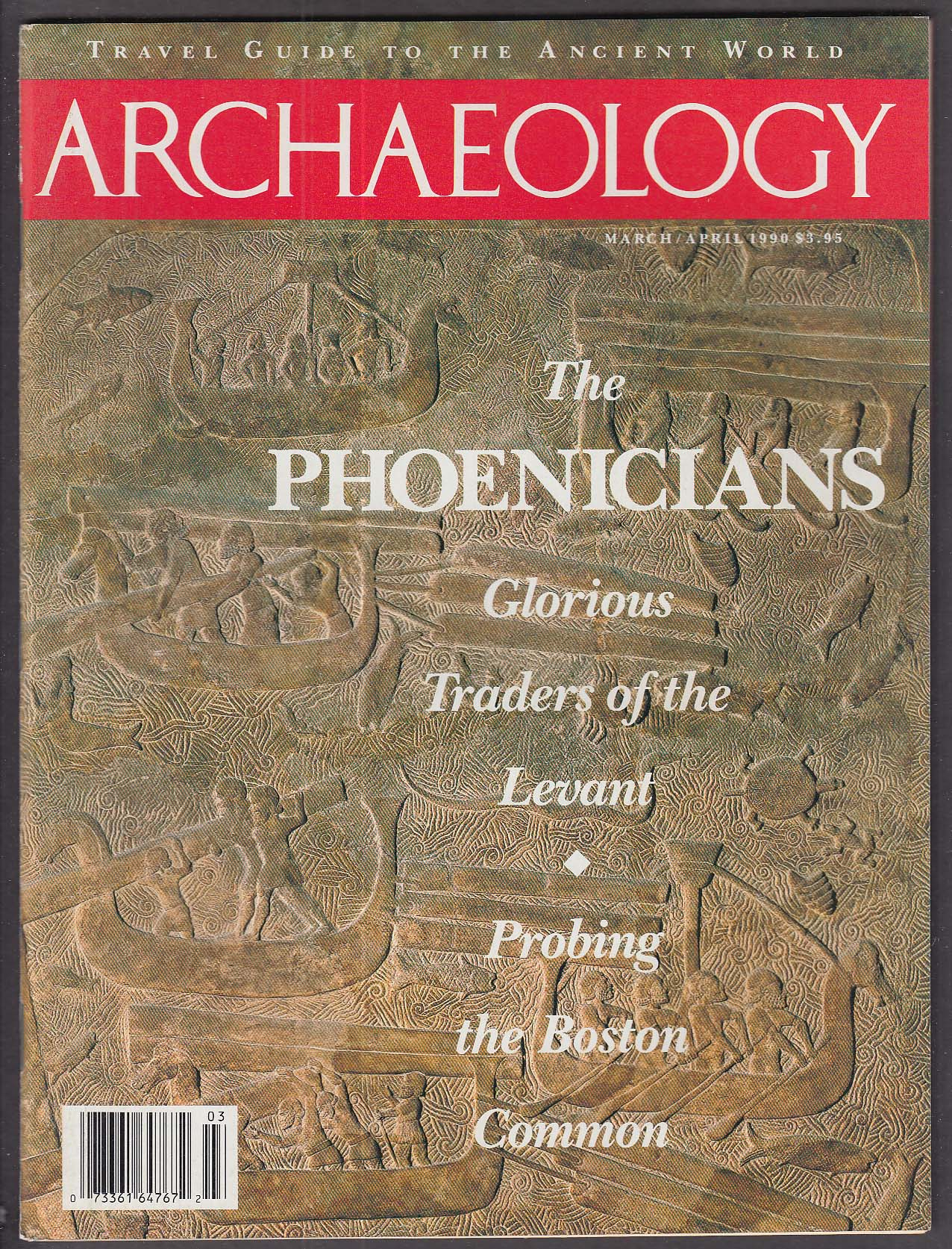 ARCHAEOLOGY Phoenicians Boston Common Maxwell Anderson ++ 3-4 1990