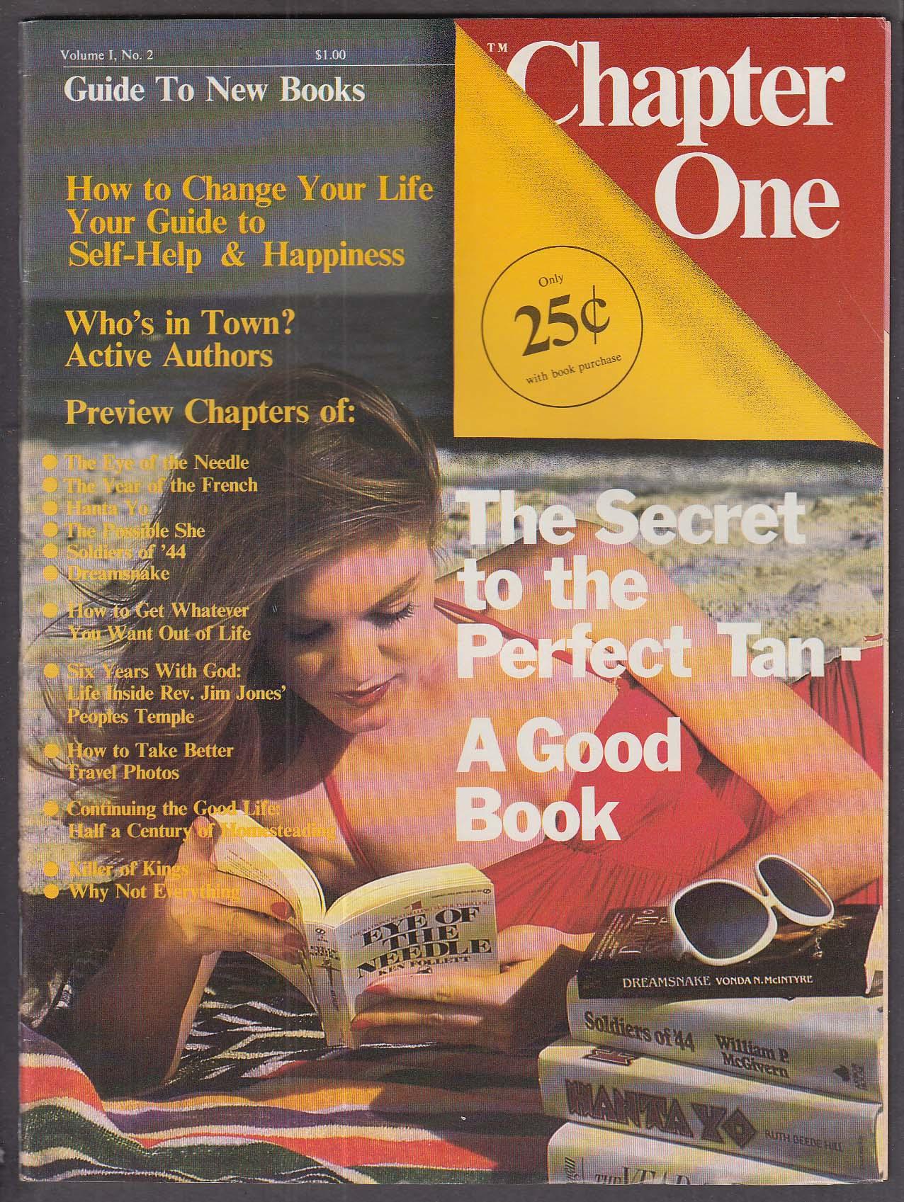 CHAPTER ONE #2 Eye of the Needle Jim Jones ++ 8-9 1979