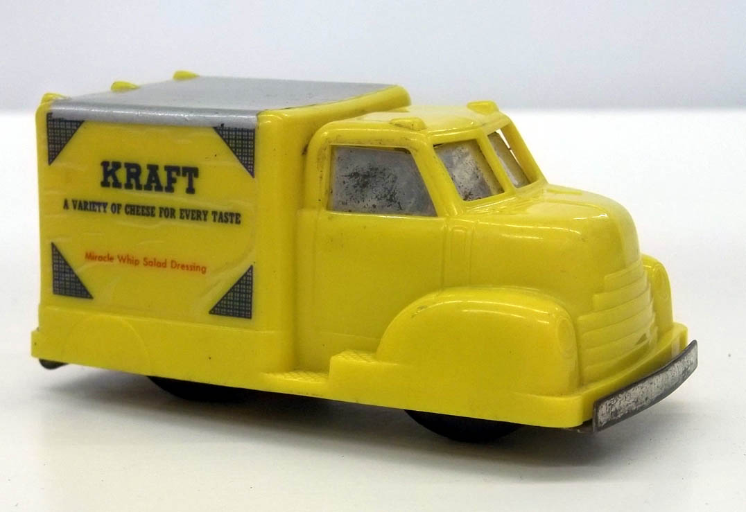 "Conway Kraft Cheese plastic delivery truck 4"" long Skokie IL"