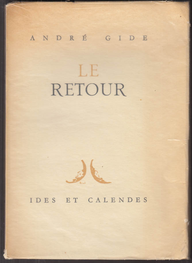 Andre Gide: Le Retour 1st edition Paris 1946 1/2500 copies