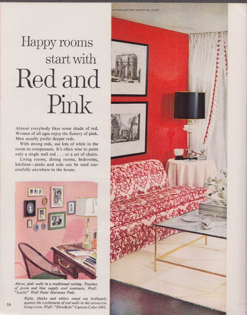 Du Pont Home Painting & Color Guide 12/1960