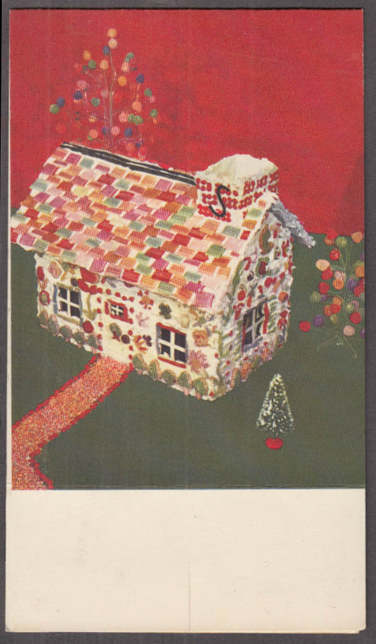 Stouffer's Restaurant Closed Christmas tabeltop tent card 1960s