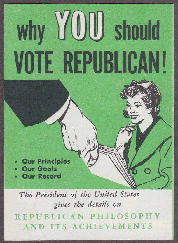 President Eisenhower on Why You Should Vote Republican folder 1960