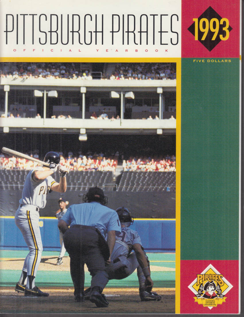 Pittsburgh Pirates Official Yearbook 1993 John Candelaria Tim Wakefield