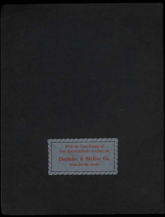 """My Picture Album for 8x10"""" child pictures Denholm & McKay Worcester MA 1950s"""