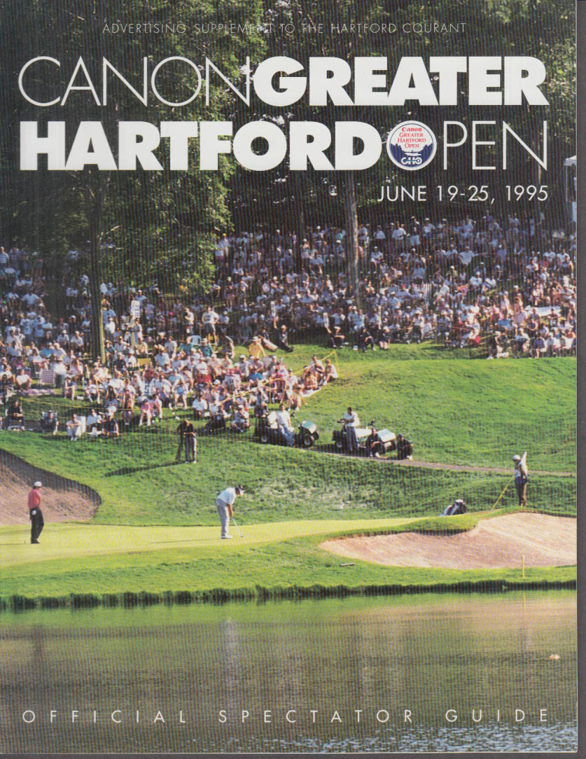 Canon GHO Greater Hartford Open Official Spectator Guide 1995
