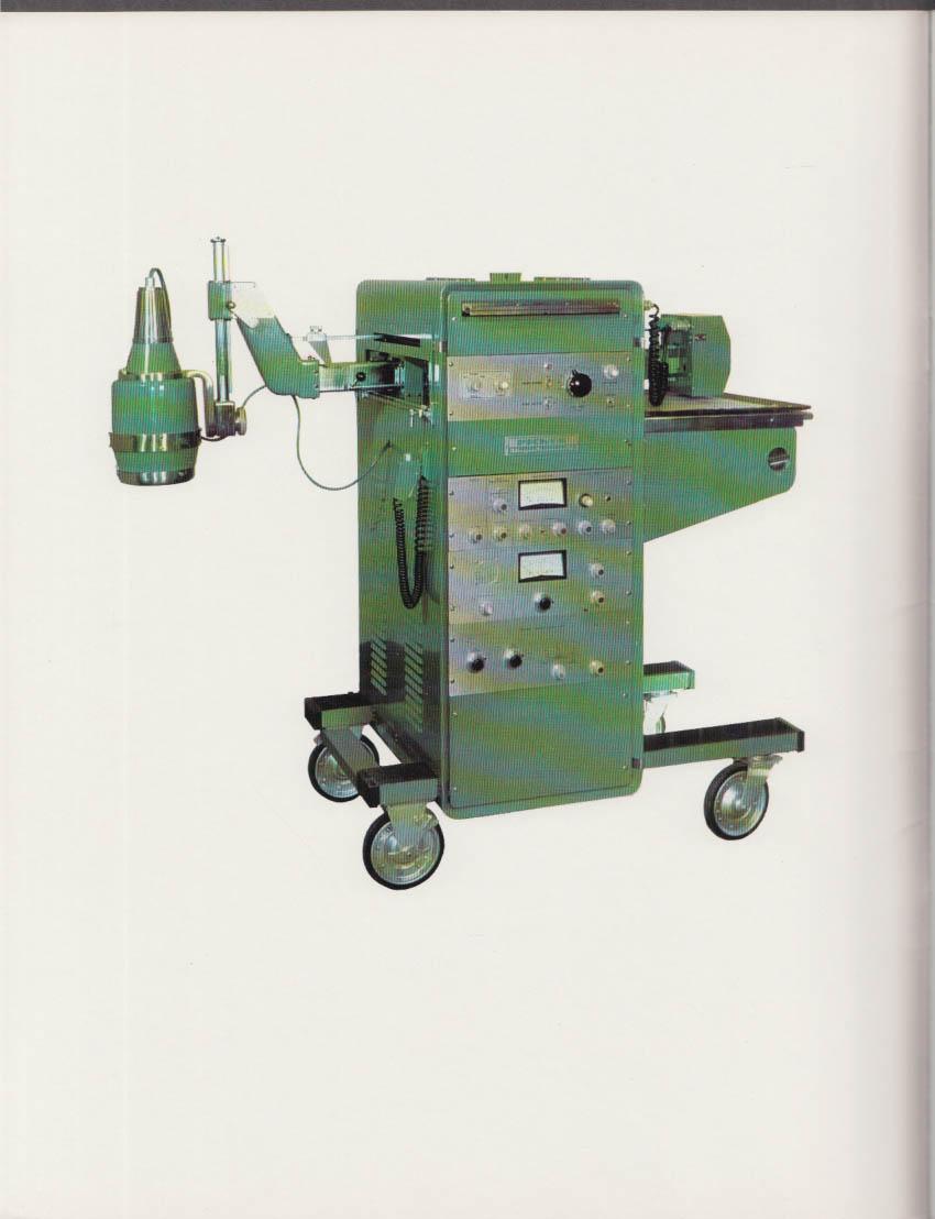 Picker Nuclear MagnaScanner Radioactive Detector sales brochure 1960