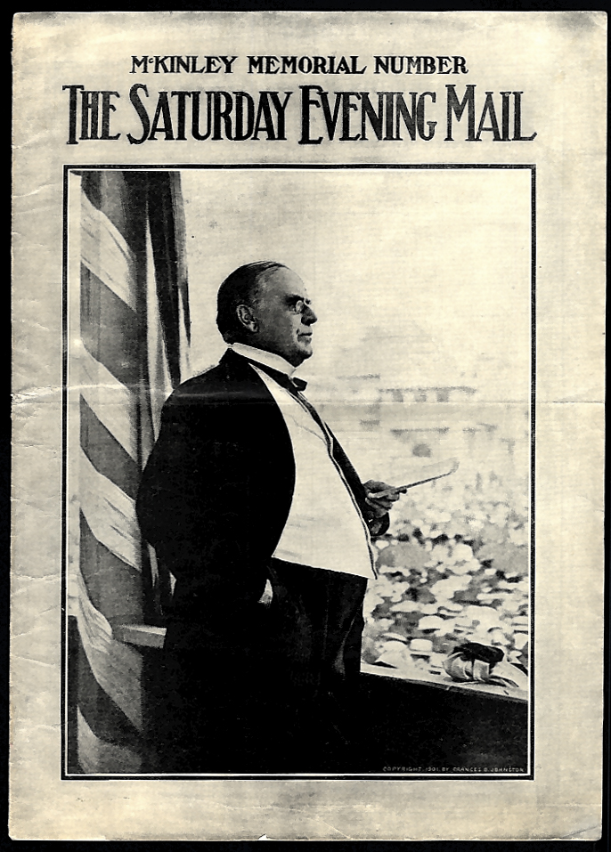 SATURDAY EVENING MAIL 9/28 1907 William McKinley Memorial Number