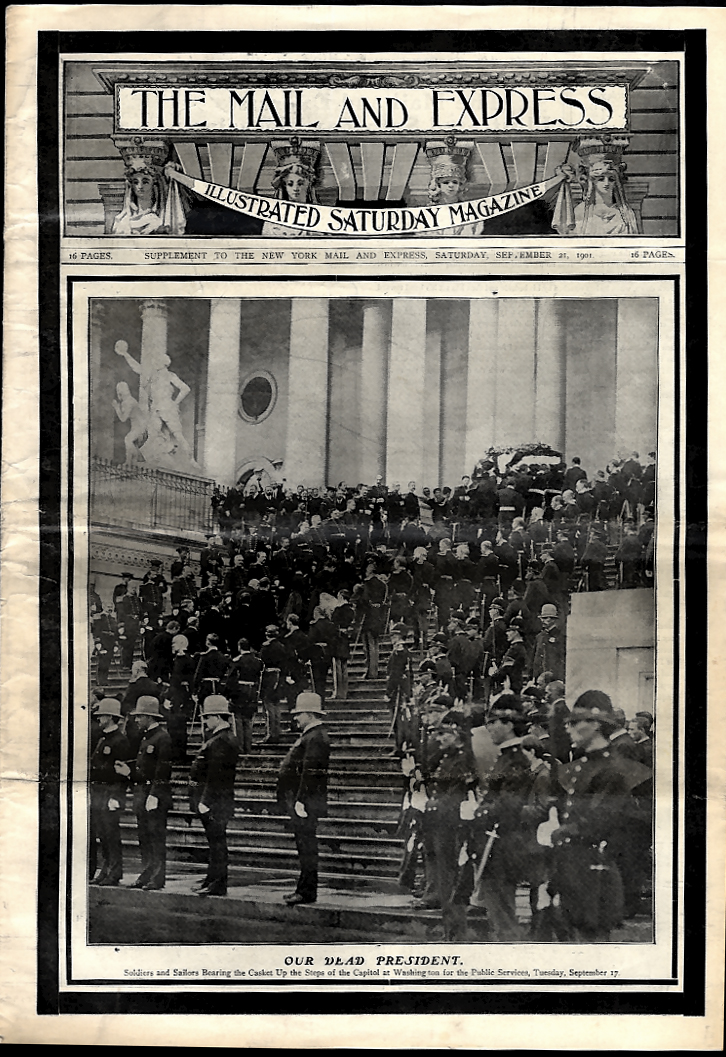 THE MAIL & EXPRESS 9/21 1901 President McKinley funeral at Capitol