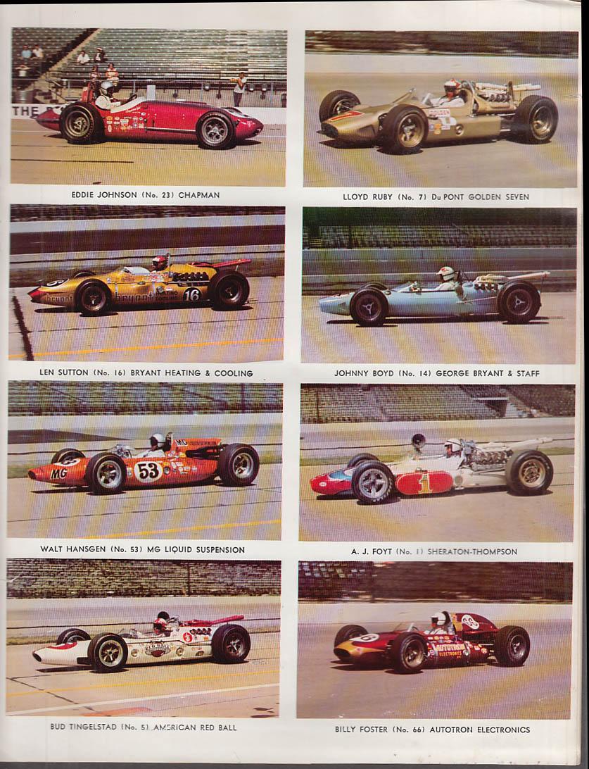 Bobby Ball USAC 200 Phoenix International Raceway Program 1965
