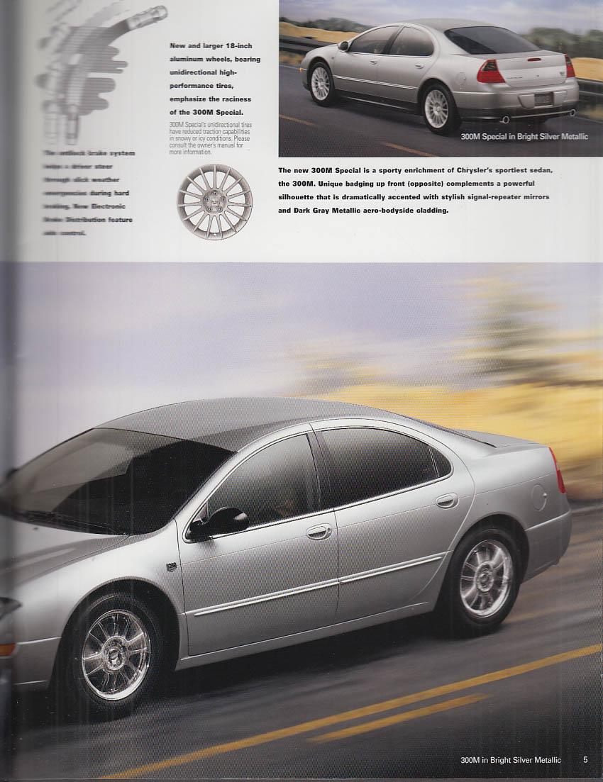 2000 Chrysler brochure 300M Concorde PT Cruiser Sebring Prowler Town & Country +