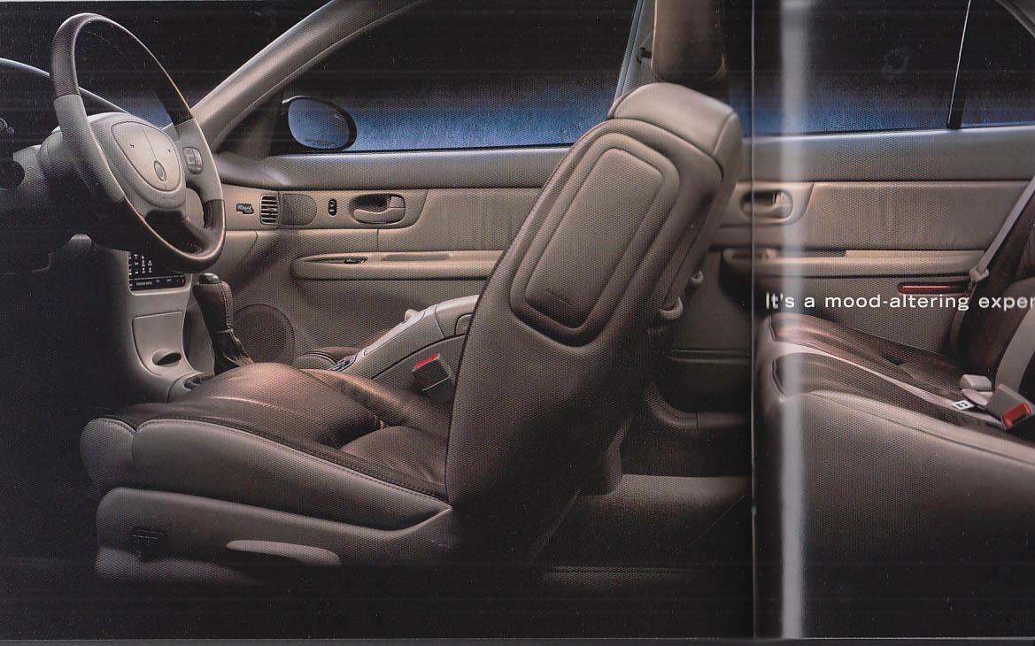 2002 Buick sales brochure Regal Century Park Avenue Rendezvous LeSabre