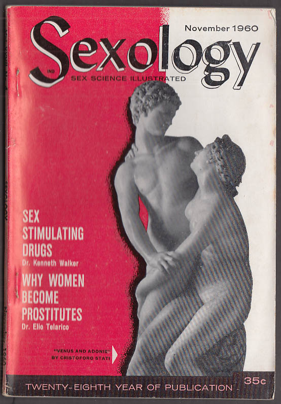 SEXOLOGY 11 1960 homosexuality prostitution sex drugs; man-to-woman change