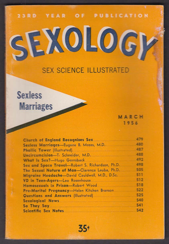 SEXOLOGY Uncircumcision Migraine Homosexuals in Prison ++ 3 1956