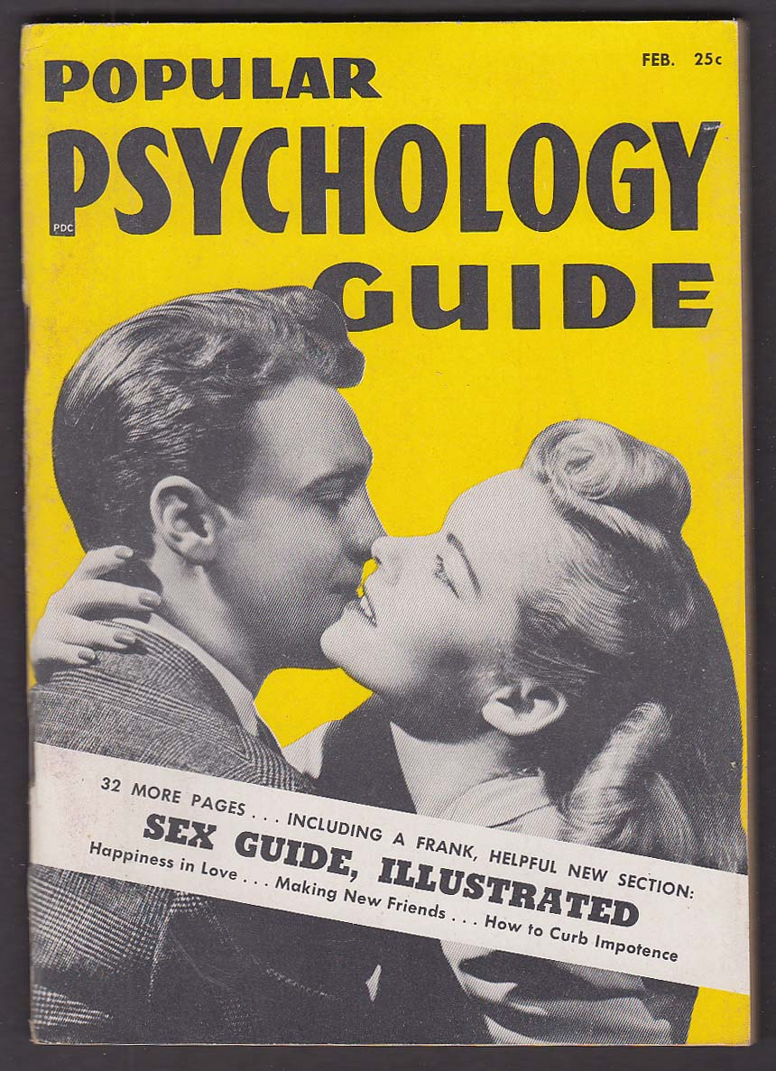 POPULAR PSYCHOLOGY GUIDE Syphilis; Pregnancy; Masturbation ++ 2 1950