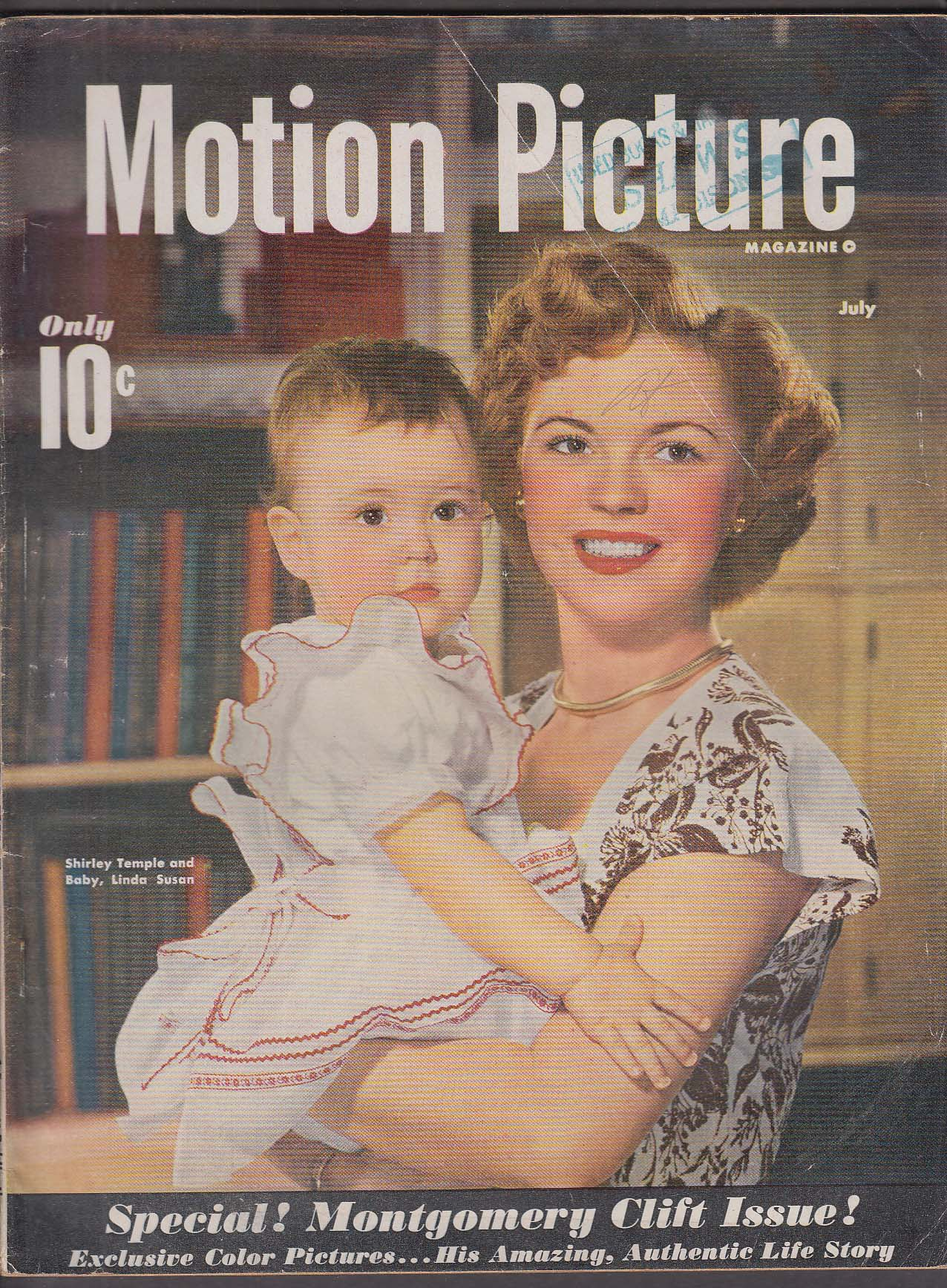 MOTION PICTURE Shirley Temple Frank Sinatra Elizabeth Taylor ++ 7 1949