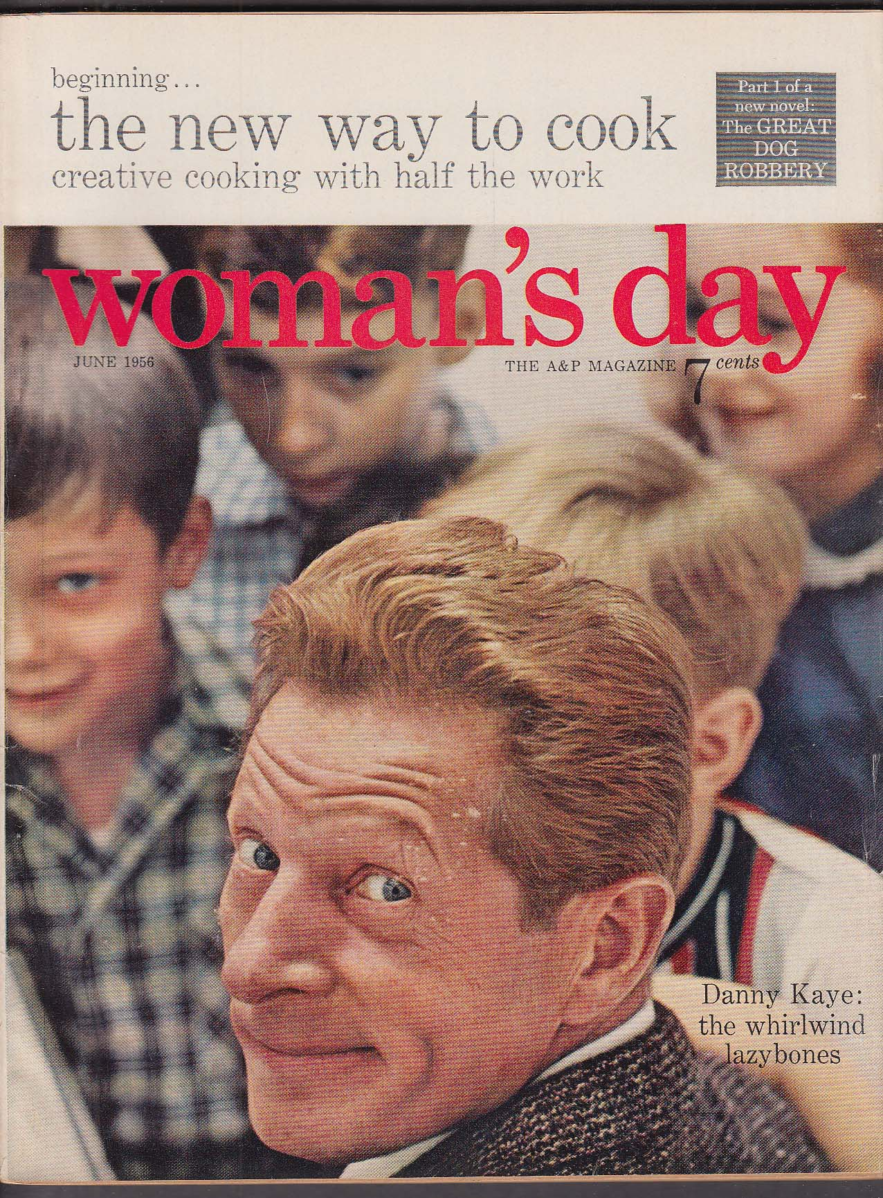 WOMAN'S DAY Danny Kaye ++ 6 1956