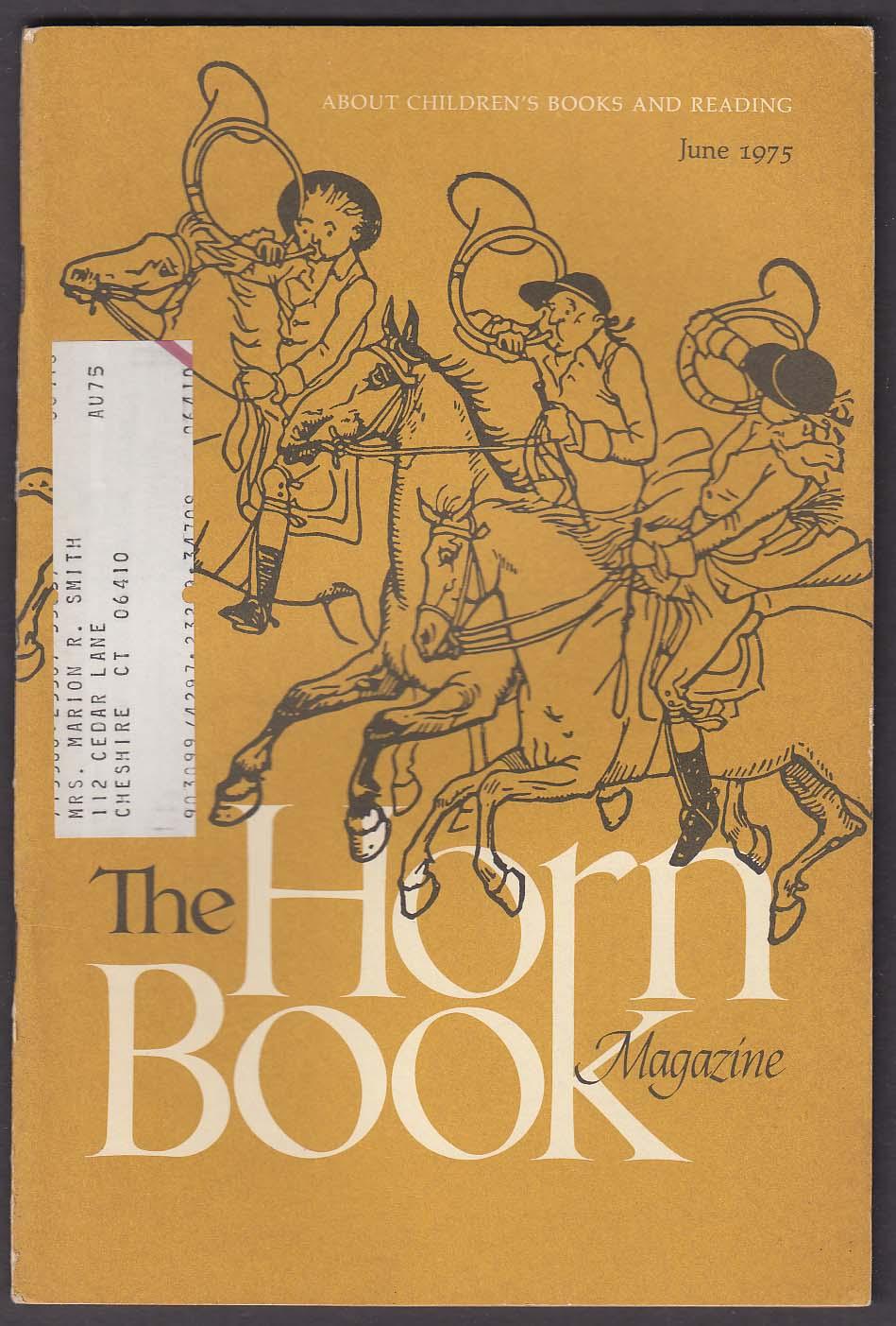 The HORN BOOK C Walter Hodges Gene Deitch Beatrice Schenk de Regniers ++ 6 1975