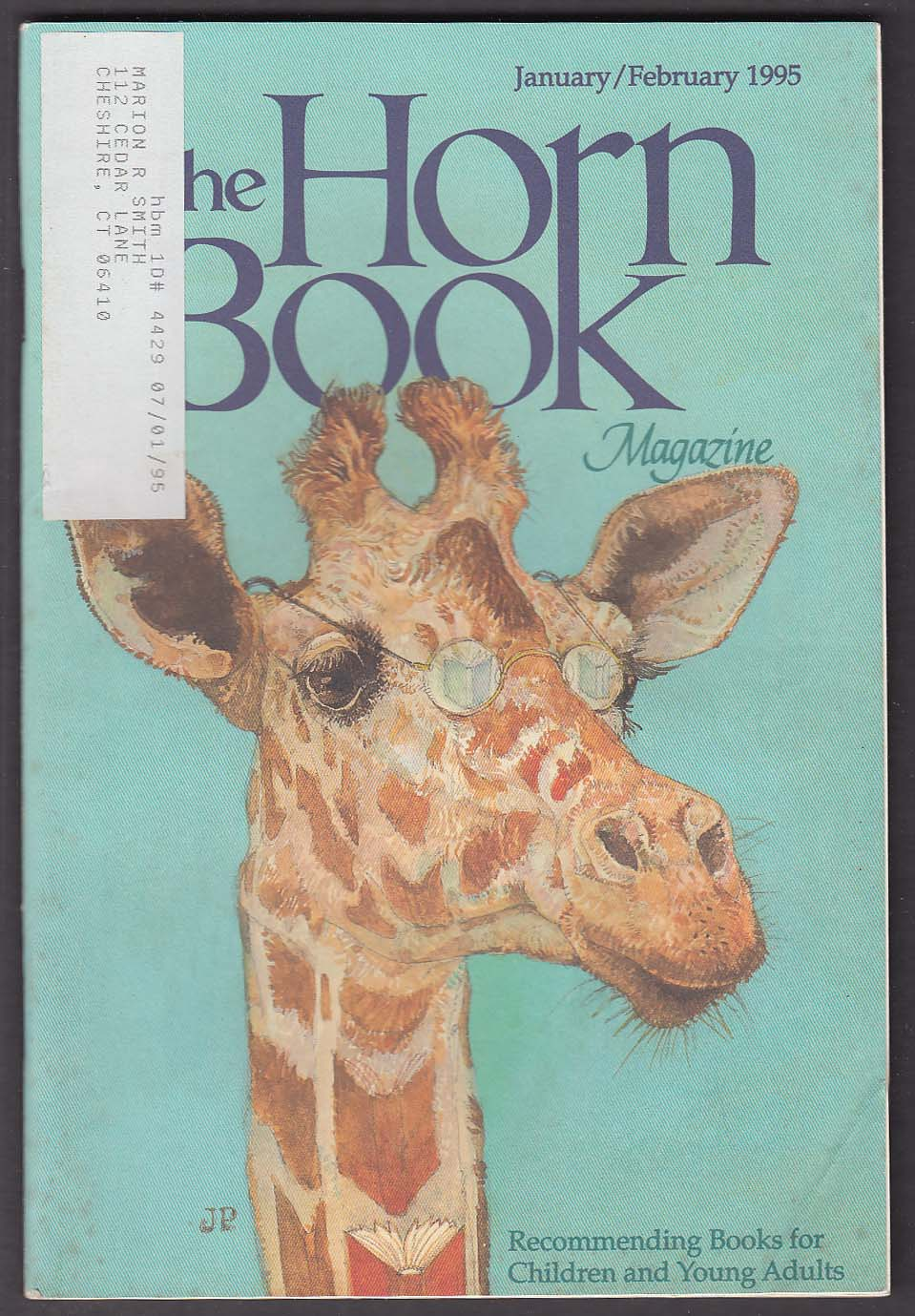 The HORN BOOK Jerry Pinkney William Steig William C Morris ++ 1-2 1995