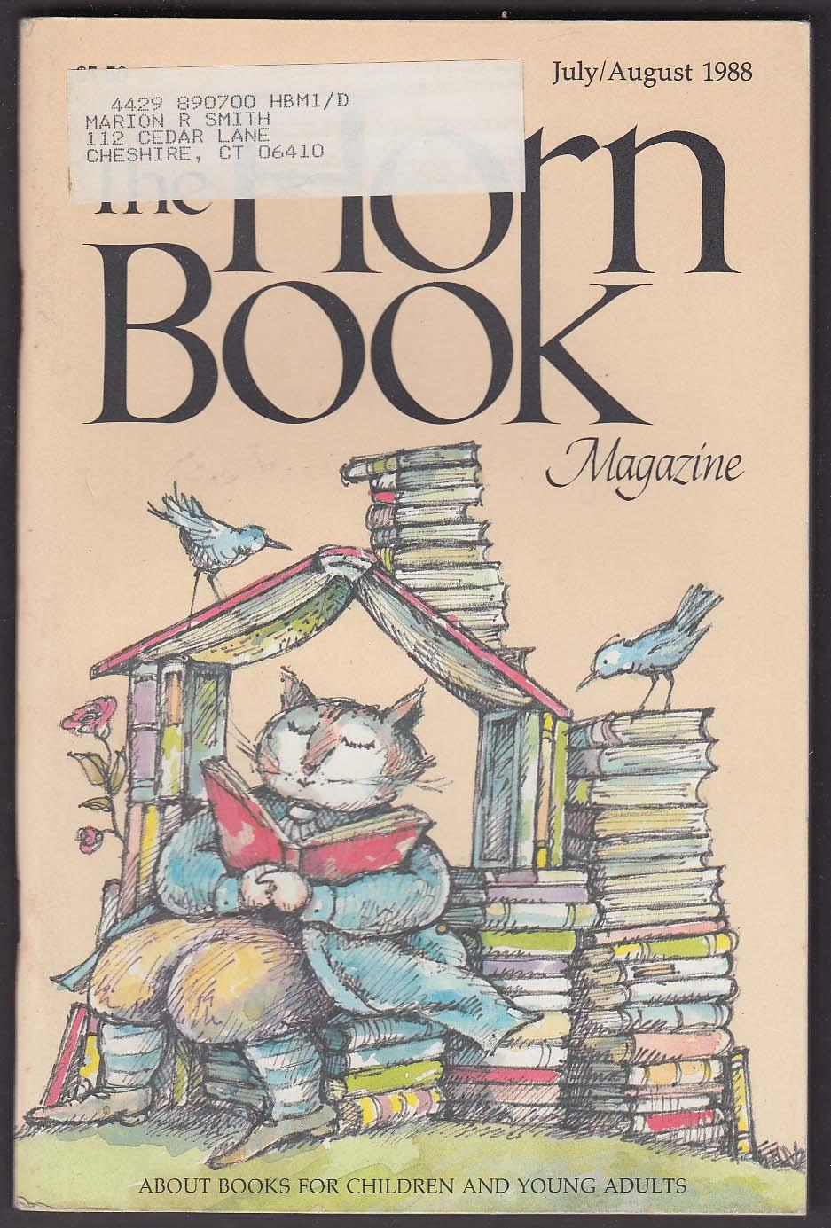 The HORN BOOK Arnold Lobel Lloyd Bloom Russell Freedman John Schoenherr 7-8 1988