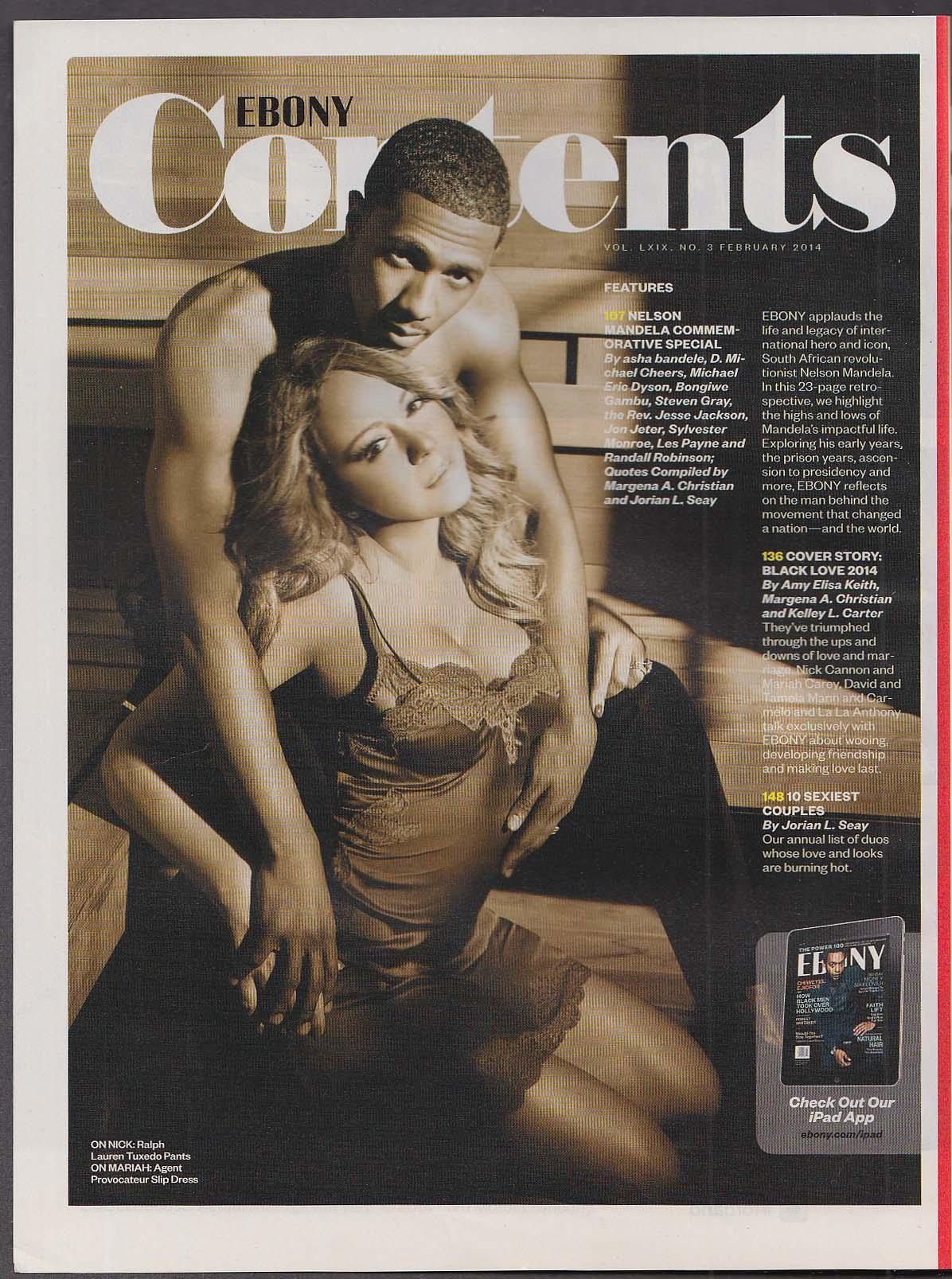 EBONY Mariah Carey Nick Cannon LeBron James Ciara Marjorie Harvey ++ 2 2014