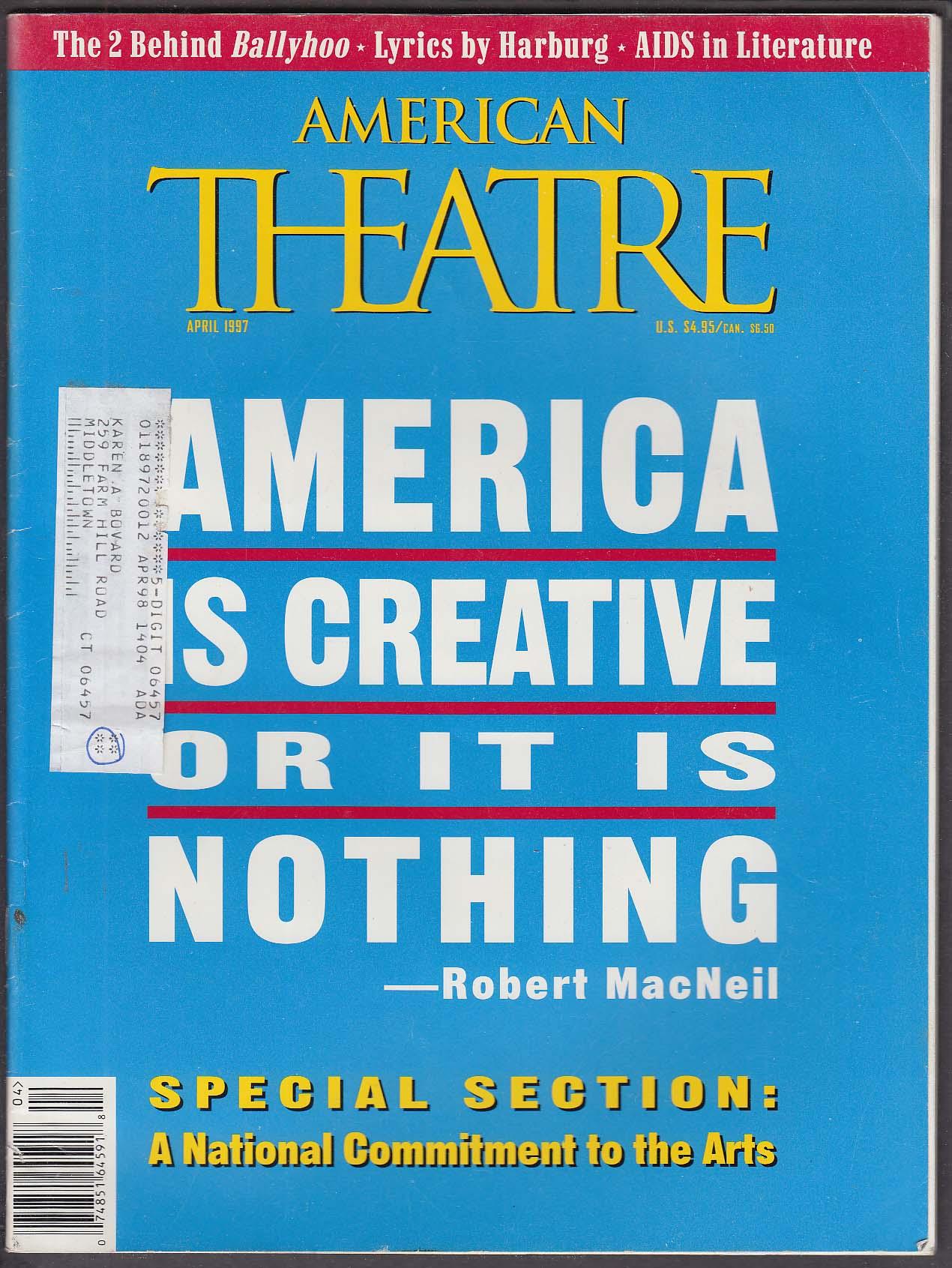 AMERICAN THEATRE Robert MacNeil Rick Lazio Lee Kessler Dana Ivey ++ 4 1997