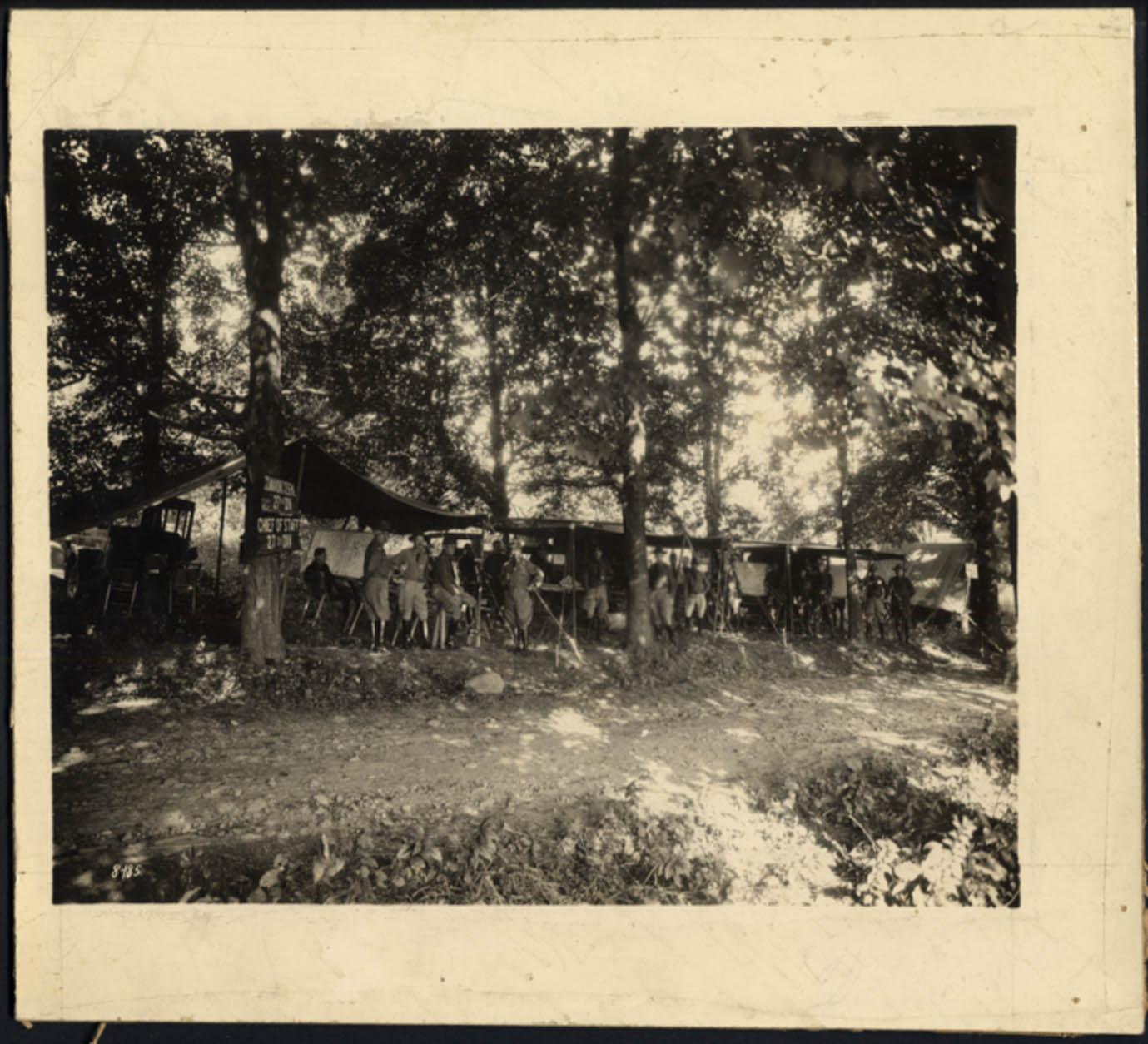 US Army New York 27th Division Commanding General John O Ryan HQ photo ca 1917