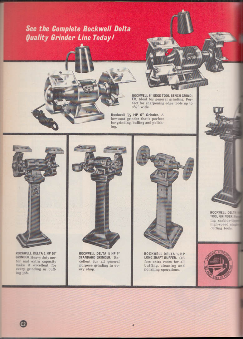 Rockwell Delta Industrial Machines catalog 1971